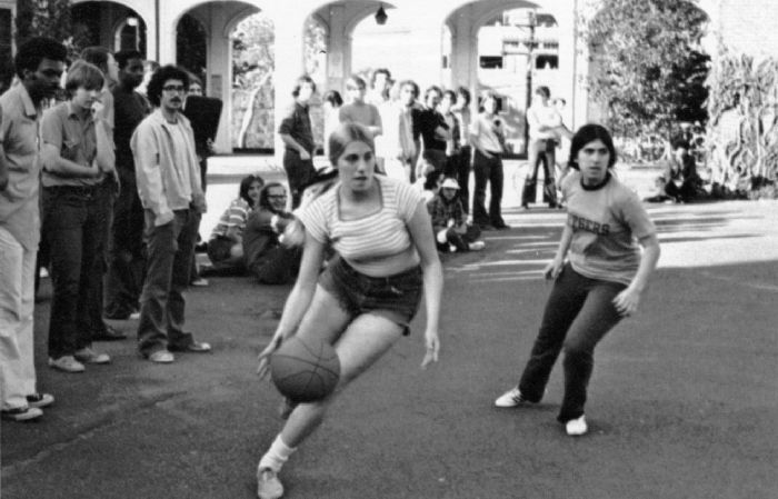 Recreational Basketball Players, Rutgers University (1973)