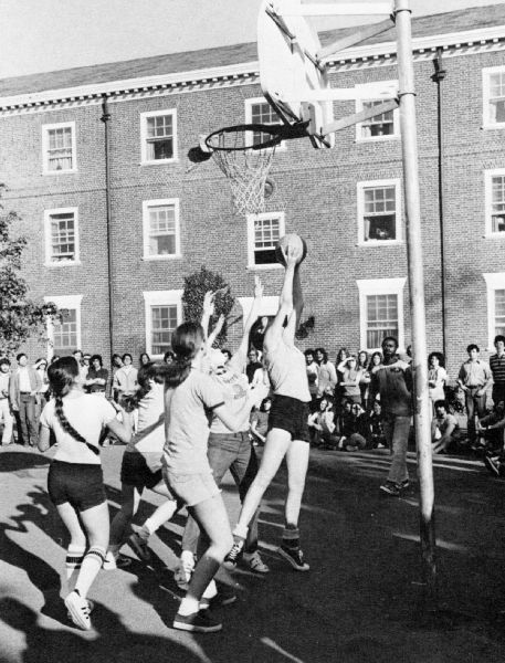 Recreational Basketball, Rutgers University (1973)