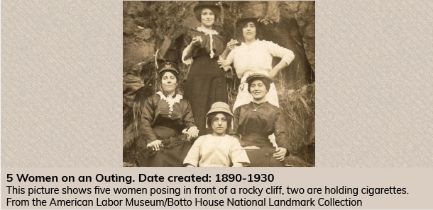 5 Women on an Outing (1890-1930)