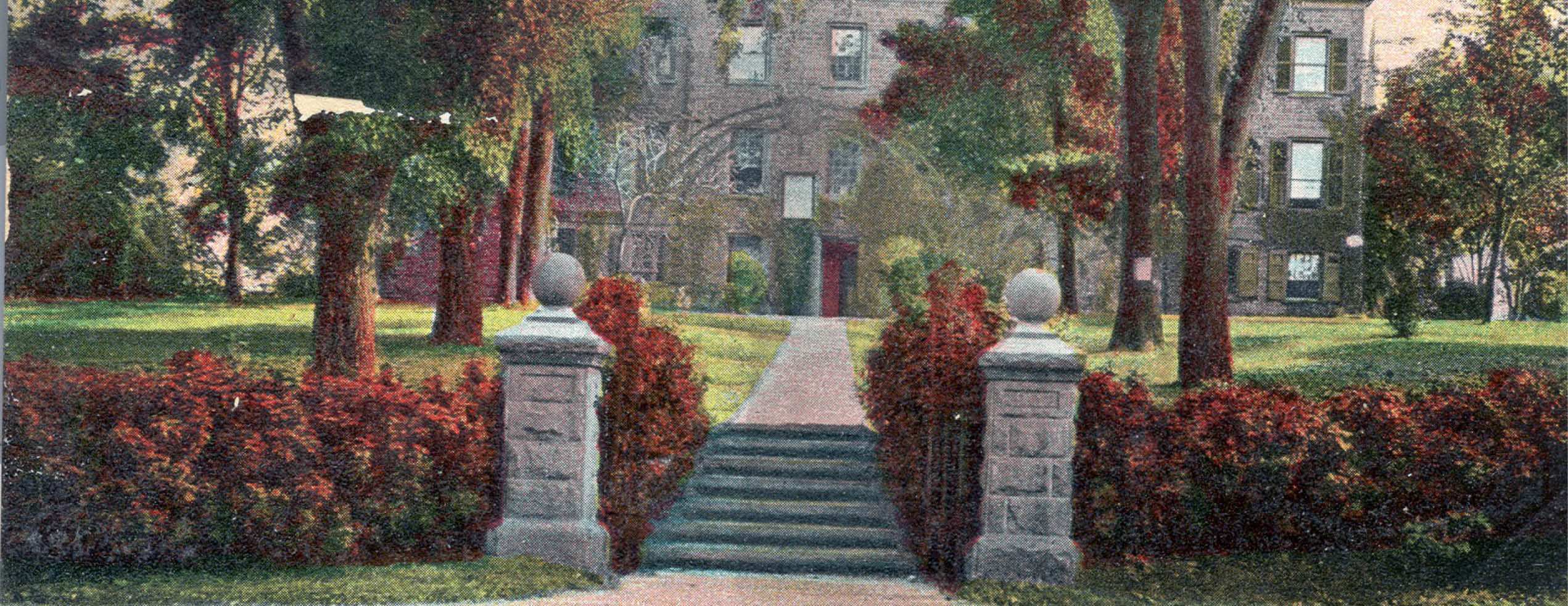 Memorial Gateway, Class 1902, Rutgers College, New Brunswick, N.J.