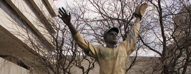 Jersey City, Journal Square, Jackie Robinson statue
