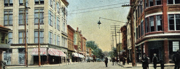 A View of Broadway from Washington Street, 1905-1920