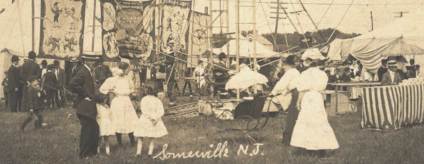 Circus, 7.1907. Ferris Wheel near Midway