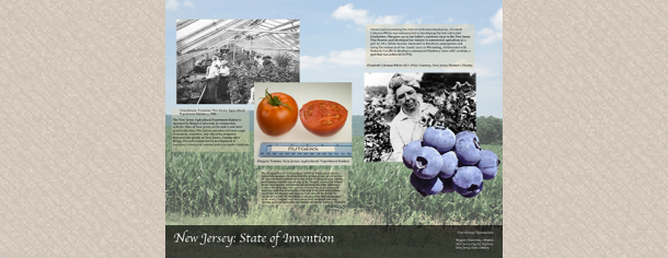 Agriculture of NJ (New Jersey: State of Invention Poster), 2014